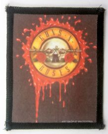 Guns N'Roses - 'Blood Logo' Printed Patch
